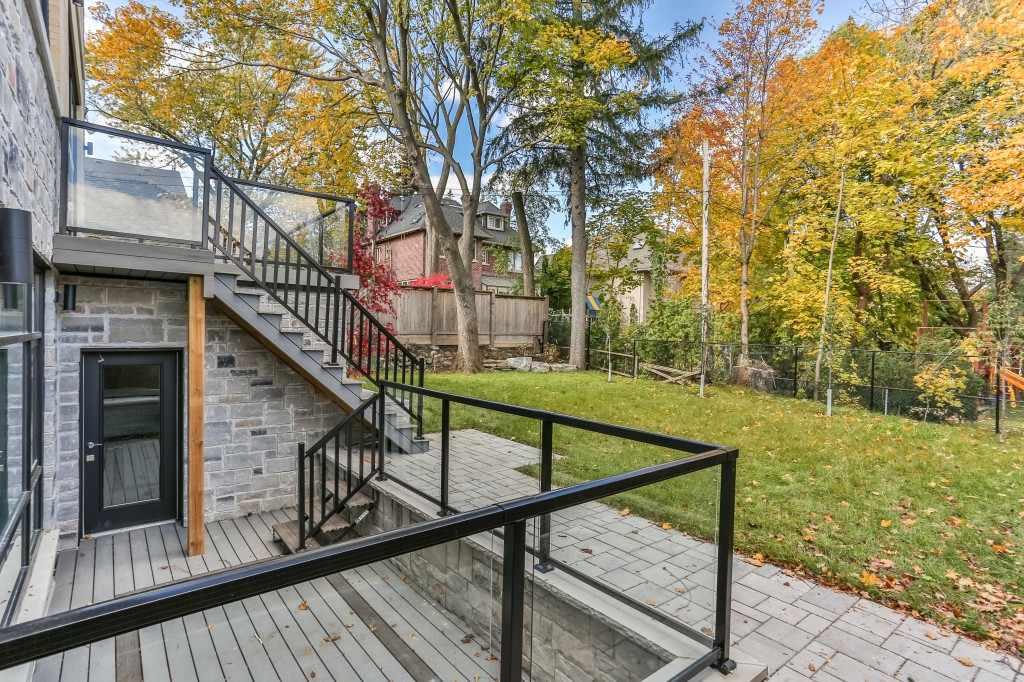 Basement backyard exterior