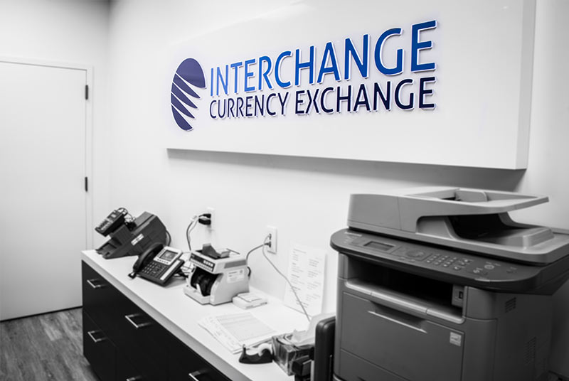 currency exchange office renovation