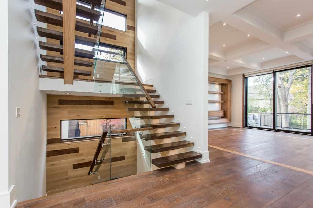 Modern Wooden Steps