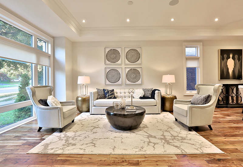 luxury interior design living area