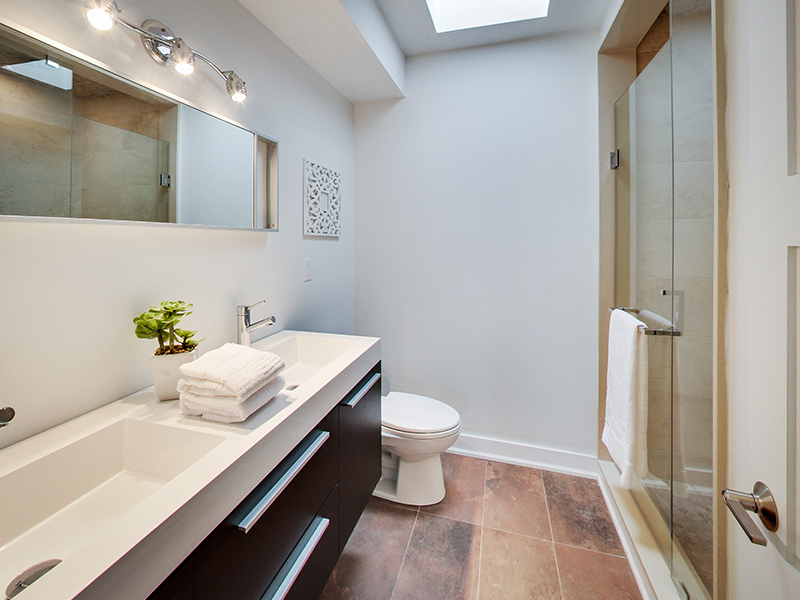 Custom built Home - Bathroom
