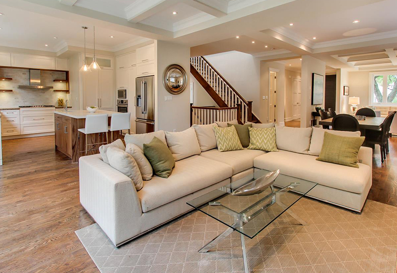 Complete house remodeling