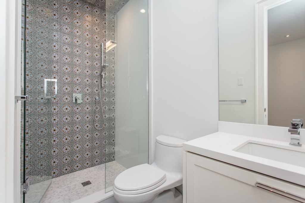 Bathroom custom interior