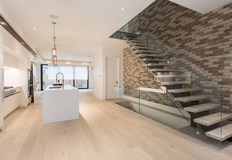 Custom Home Interior in Toronto