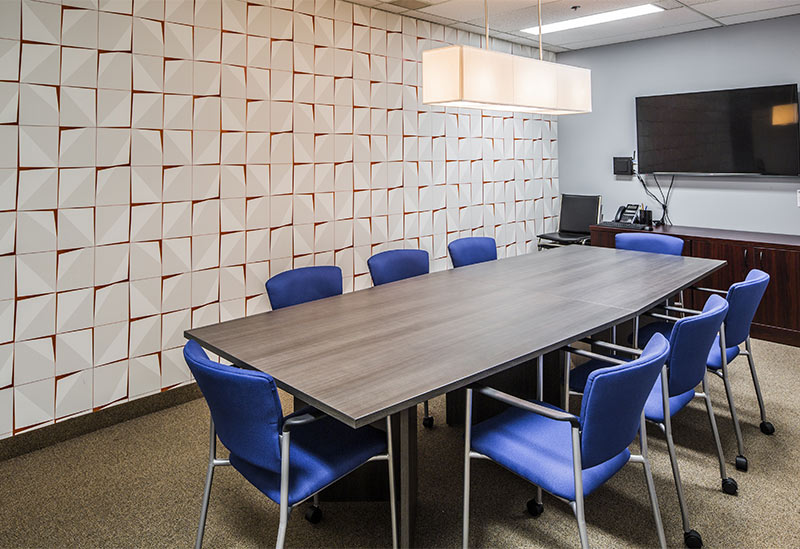 office remodeling by Wallzcorp