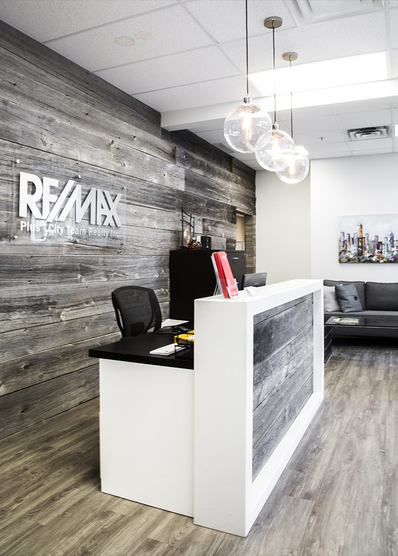 office remodeling front desk